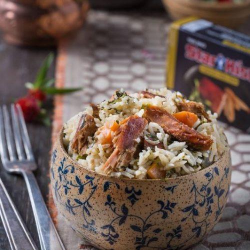 אורז בחש עם טונה מעושנת