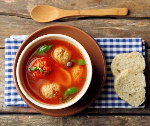 קובה טונה במרק עגבניות
