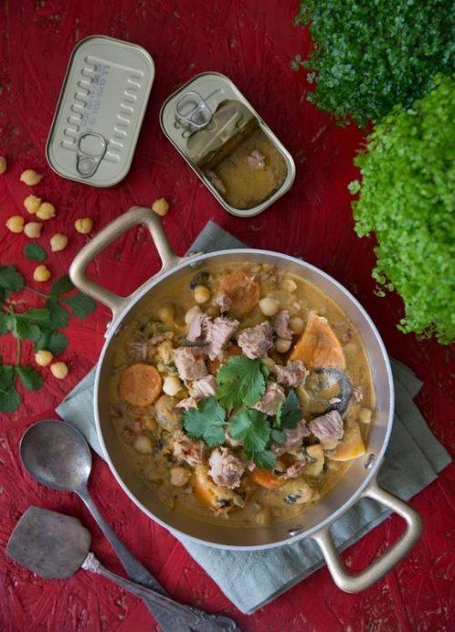 תבשיל קארי עם טונה